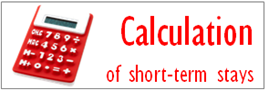 CALCULATOR of Short Term Stays