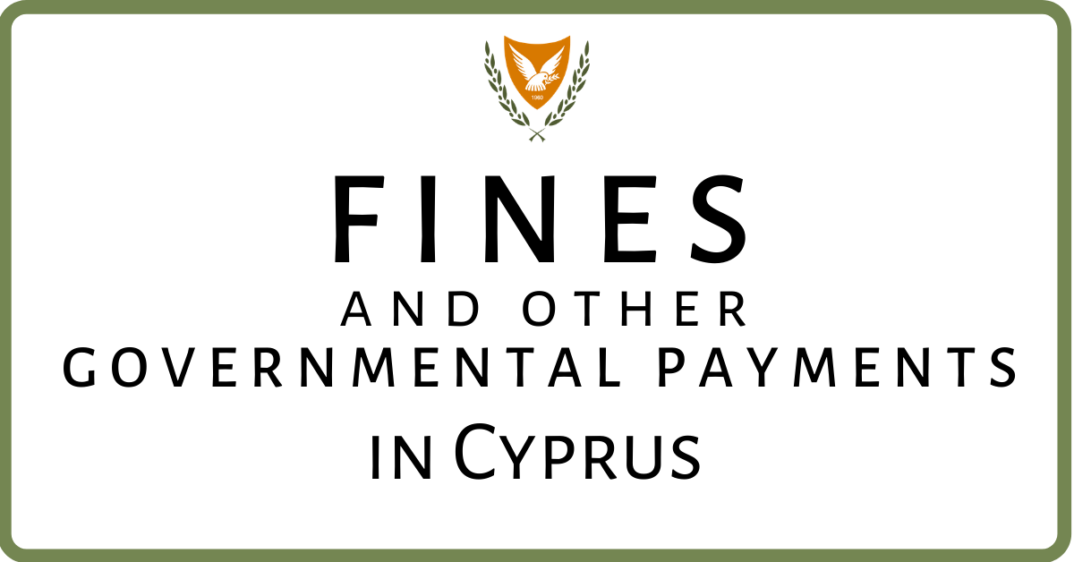 Fines and other services